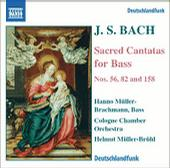 Bach: Sacred Cantatas for Bass, Nos.56, 82 & 158