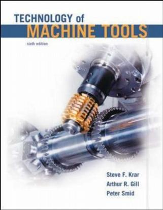 Technology Of Machine Tools Student Edition