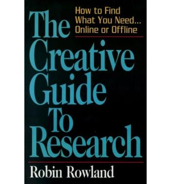 CREATIVE GUIDE TO RESEARCH