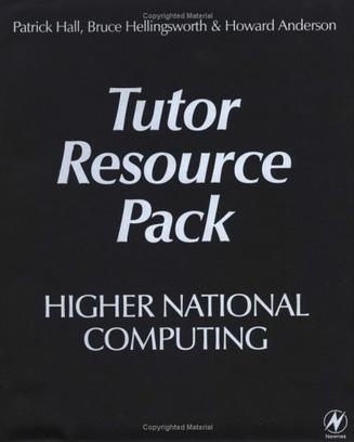 Higher National Computing Tutor Resource Pack