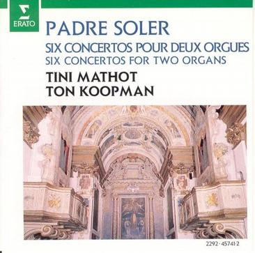 Padre Antonio Soler: Concertos For Two Organs