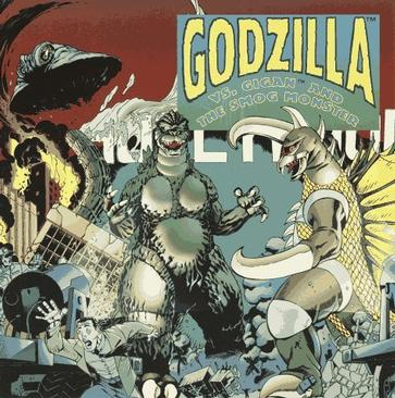 Godzilla Vs. Gigan and the Smog Monster (Pictureback(R))
