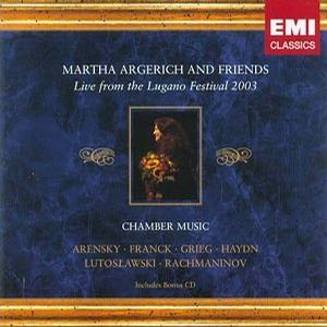 Martha Argerich and Friends -- Live from the Lugano Festival 2003 -- Chamber Music