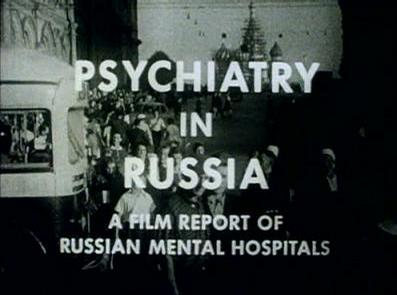 Psychiatry in Russia