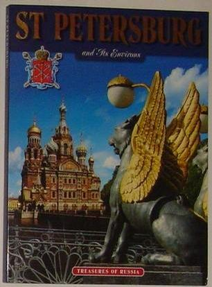 St Petersburg and Its Environs, Treasures of Russia (Printed in Finland)