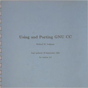 Using and Porting GNU CC, Version 2.6