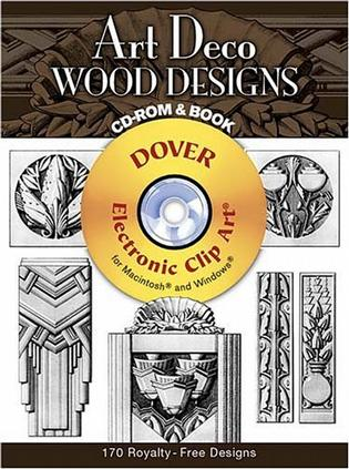 Art Deco Wood Designs CD-ROM and Book (Electronic Clip Art)