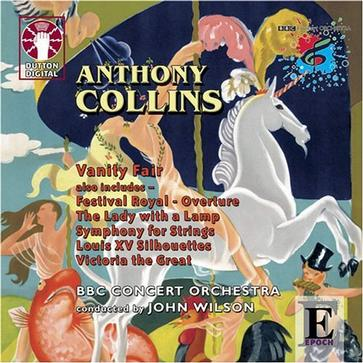 Anthony Collins: Vanity Fair; Etc.