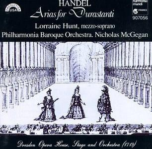 George Frideric Handel: Arias for Durastanti