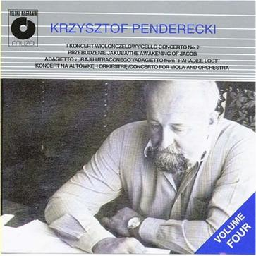Penderecki: Cello Concerto, The Awekening of Jacob, Adagietto, Concerto for viola and orchestra