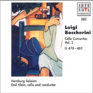 Boccherini: Cello Concertos, G478-G481