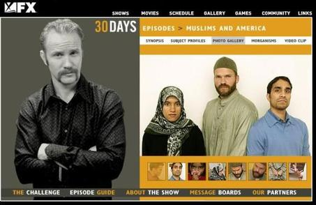 """30 days"", Muslims and America"