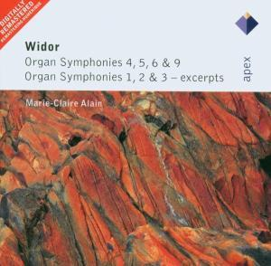 Widor:Organ Symphoies 4,5,6 & 9 etc.