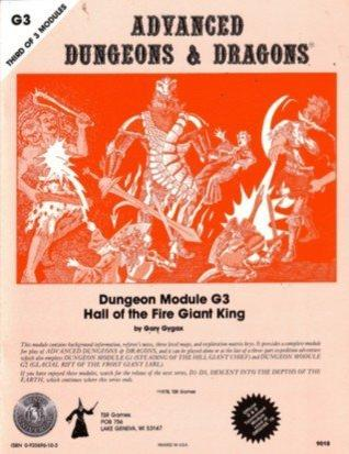 Hall of the Fire Giant King (Advanced Dungeons & Dragons Module G3) (Dungeons & dragons dungeon module)