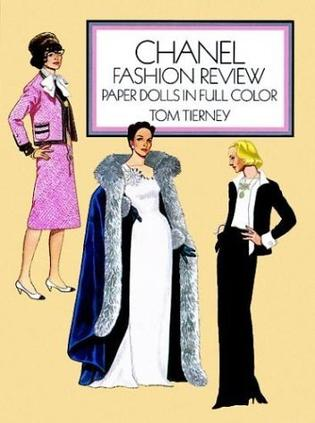 Chanel Fashion Review Paper Dolls in Full Color