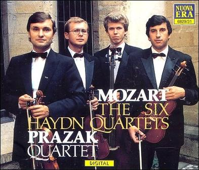 Mozart: The Six Haydn Quartets, Prazak Quartet