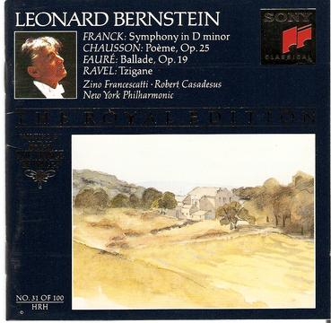 Leonard Bernstein, The Royal Edition No.31 - French Works