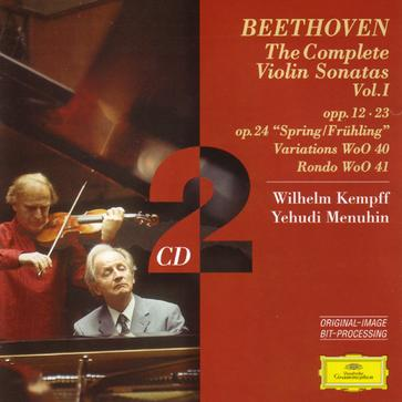 Beethoven: The Complete Violin Sonatas Vol. 1