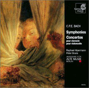 Concertos for Harpsichord & Cello: Symphonies