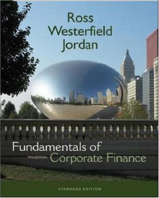 Fundamentals Of Corporate Finance (Mcgraw-Hill/Irwin Series in Finance, Insurance, and Real Estate)