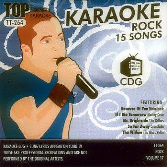Top Tunes Karaoke CD+G Rock Vol. 17 TT-264