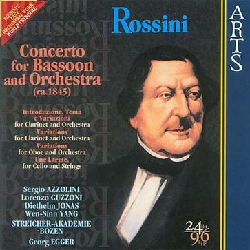 Rossini: Concerto for Bassoon and Orchestra - Rossini's Last Orchestral Work