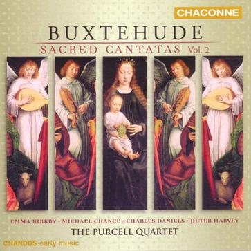 Buxtehude: Sacred Cantatas, Vol 2 /Purcell Quartet