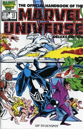 Essential Official Handbook of the Marvel Universe - Deluxe Edition, Vol. 2 (Marvel Essentials)