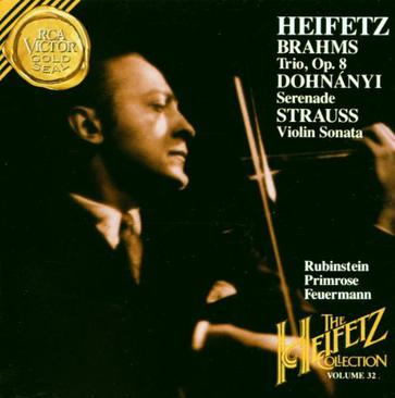 Heifetz Collection, Vol. 32