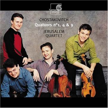 Shostakovitch: Quatuors no 1, 4 & 9 / Jerusalem Quartet