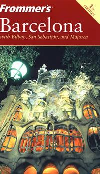 FROMMERIS BARCELONA, 1ST EDITION-Frommer巴塞罗那
