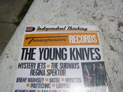 NME Presents Independent Thinking Transgressive Records