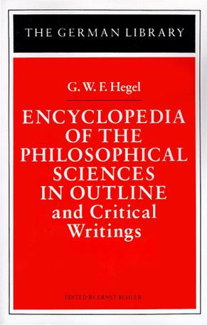Encyclopedia of the Philosophical Sciences in Outline