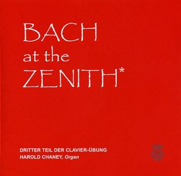 Bach at the Zenith --  Clavierübung, Part III