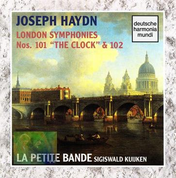 "JOSEPH HAYDN:LONDON SYMPHONIES Nos. 101 ""THE CLOCK""&102"