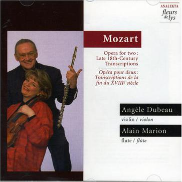 Mozart: Opera for two (Late 18th-Century Transcripts) / Dubeau, Marion