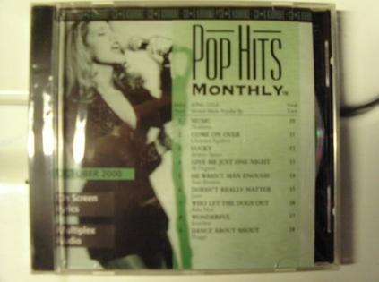 PHM-0010 POP HITS MONTHLY Karaoke CDG OCTOBER 2000 MULTIPLEX