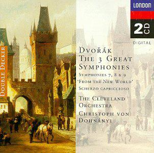 "Dvořák: Symphonies Nos. 7, 8 & 9 ""From the New World""; Scherzo Capriccioso"
