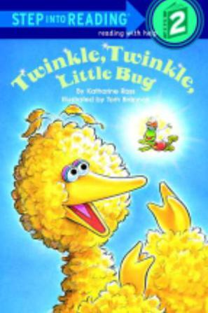 Twinkle Twinkle Little Bug Step-Into-Reading Step 2