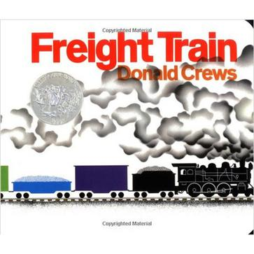 Freight Train Board Book (Caldecott Collection)