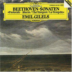 "BEETHOVEN: Piano Sonata No. 17 in D minor op. 31-2 ""The Tempest"""