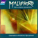 Malipiero: The 8 String Quartets