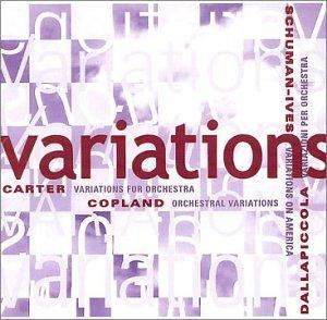 Variations: COPLAND / CARTER / DALLAPICCOLA / IVES