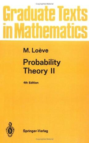 Probability Theory II (Graduate Texts in Mathematics)