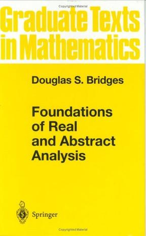 Foundations of Real and Abstract Analysis (Graduate Texts in Mathematics)