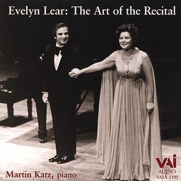 Evelyn Lear: Art of the Recital