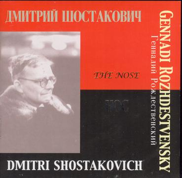 "Shostakovich: ""The Nose"", Opera in 3 Acts"