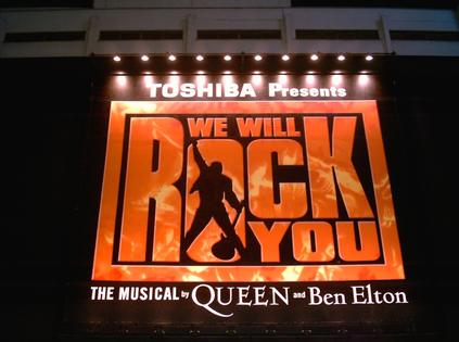 We Will Rock You:Ben Elton & Queen L