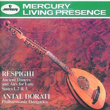 Respighi: Ancient Dances & Airs for Lute