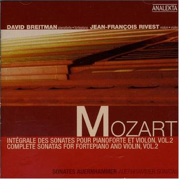 Mozart: Complete Sonatas for Fortepiano and Violin, Vol. 2
